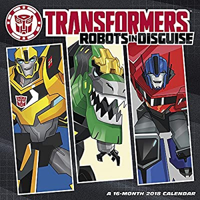 2018 Transformers - Robots in Disguise Wall Calendar (Day Dream)