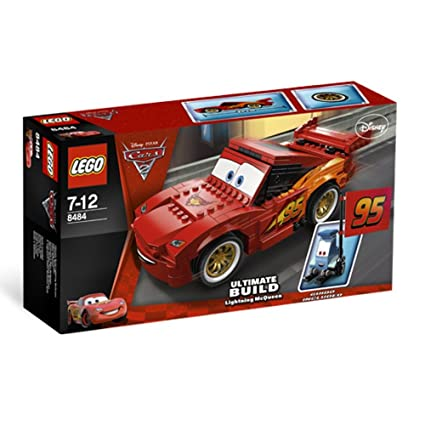 Fin Amazon.com: LEGO Cars Ultimate Build Lightning McQueen 8484: Toys ZH-46