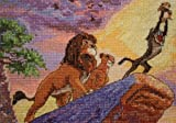 MCG Textiles Disney Dreams Collection By Thomas Kinkade  The Lion King, Vignette 5x7  18 Count
