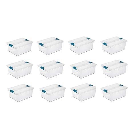 Amazon.com: Sterilite - Caja de almacenaje para archivadores ...