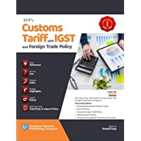 BDP Customs Tariff with IGST and Foreign Trade Policy Set of 2 Vols by ANAND GARG Edition AUGUST 2018