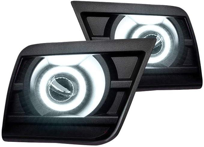 White For 2014 Chevrolet Camaro Oracle Lights 1190-001 Fog Light Halo Kit