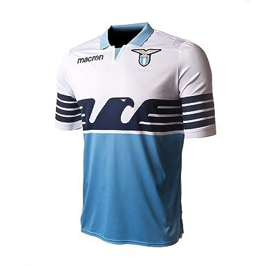 243669bdc2a Macron Lazio 18 19 Home S S Football Shirt - Blue White  Amazon.co.uk   Clothing