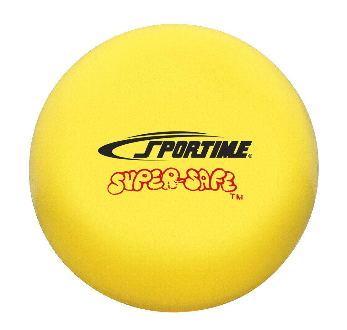 Sportime - Pelotas de softball de 4 pulgadas, color amarillo ...