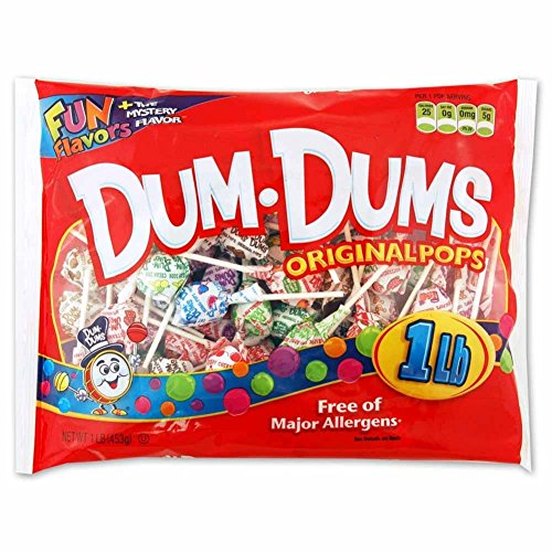 Dum Dums 1 lb bag Assorted -