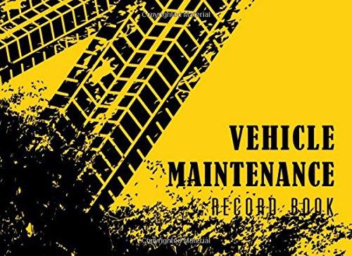 Van Mileage Ford (Vehicle Maintenance Record Book: Automotive Maintenance Log, Date, Mileage, Repair Car Log Book With 110 (8.25