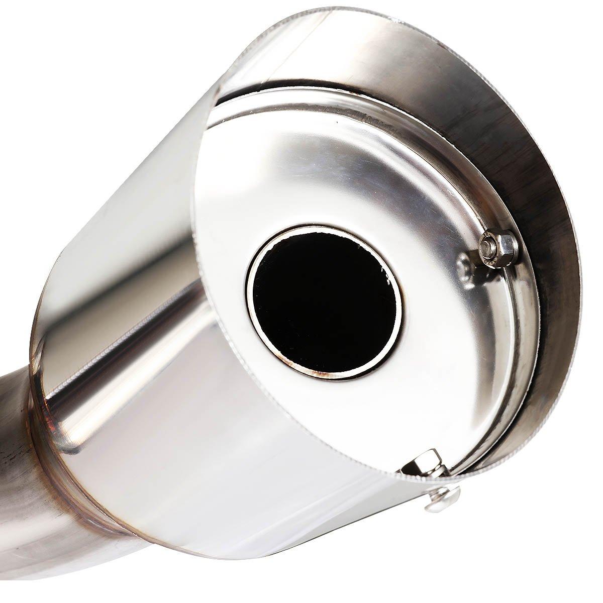 for 10-13 MazdaSpeed-3 2.3L Turbo DNA Motoring CBE-MZ3-T CBEMZ3T Catback Exhaust System