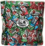 Assorted Bulk Sweet Candy of Airheads Mixed Flavors: Cherry, Blue Raspberry, Watermelon (5 pound)