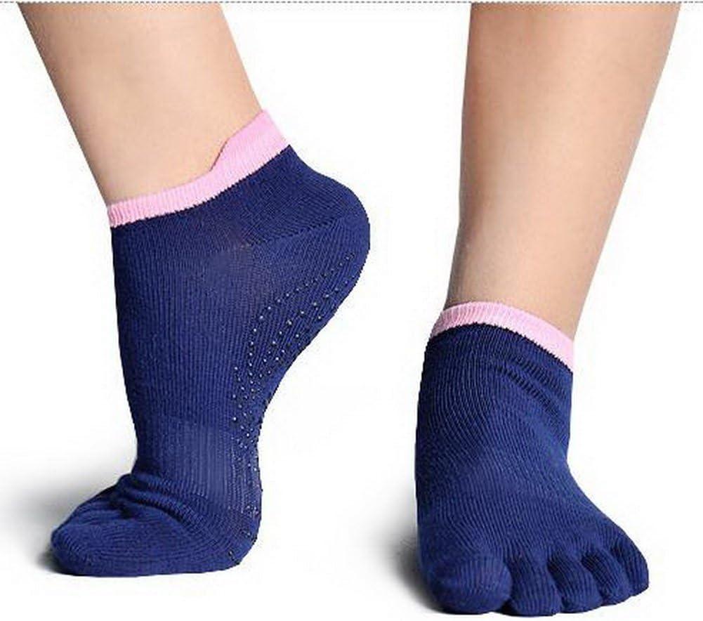 Yoga Yoga Socks in Dusky Blues Pilates. for Dance Pedicures