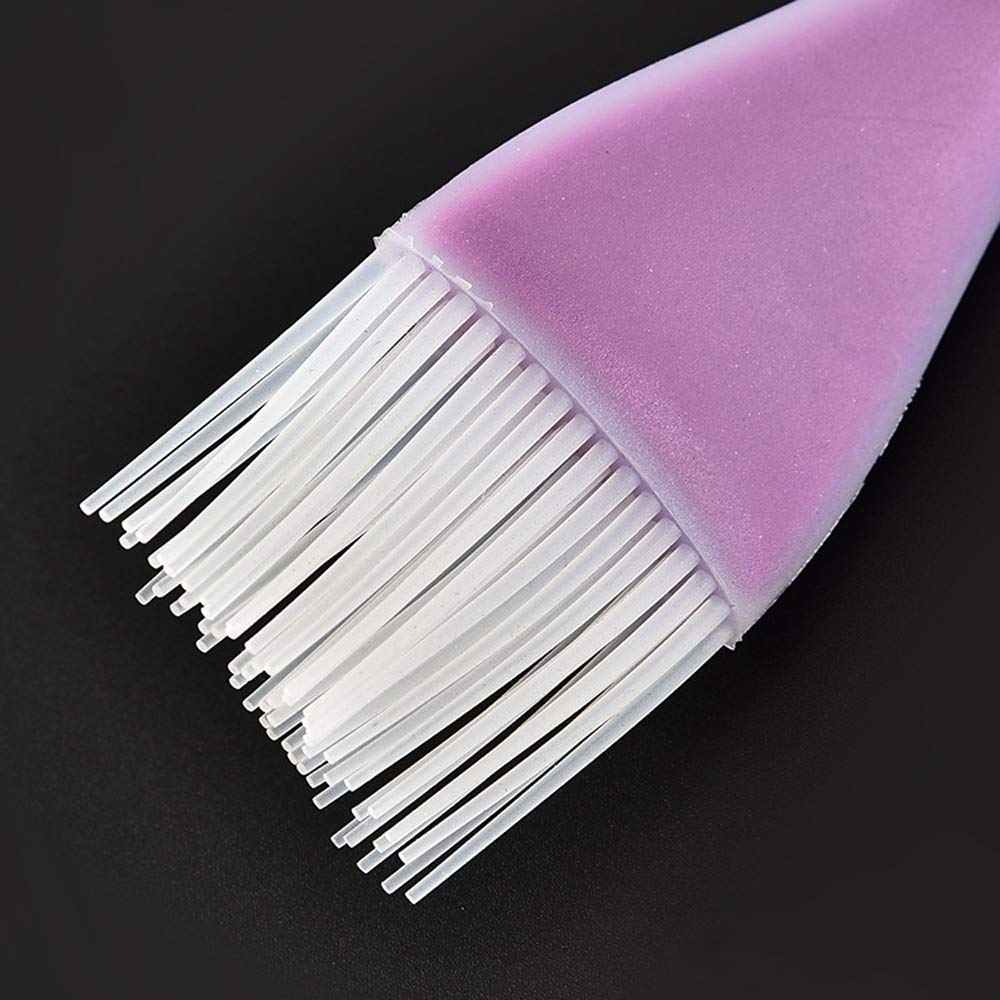Purple HG HGROPE Baking Bread Cook Pastry Oil Cream BBQ Tools Basting Barbecue Brush Silicone