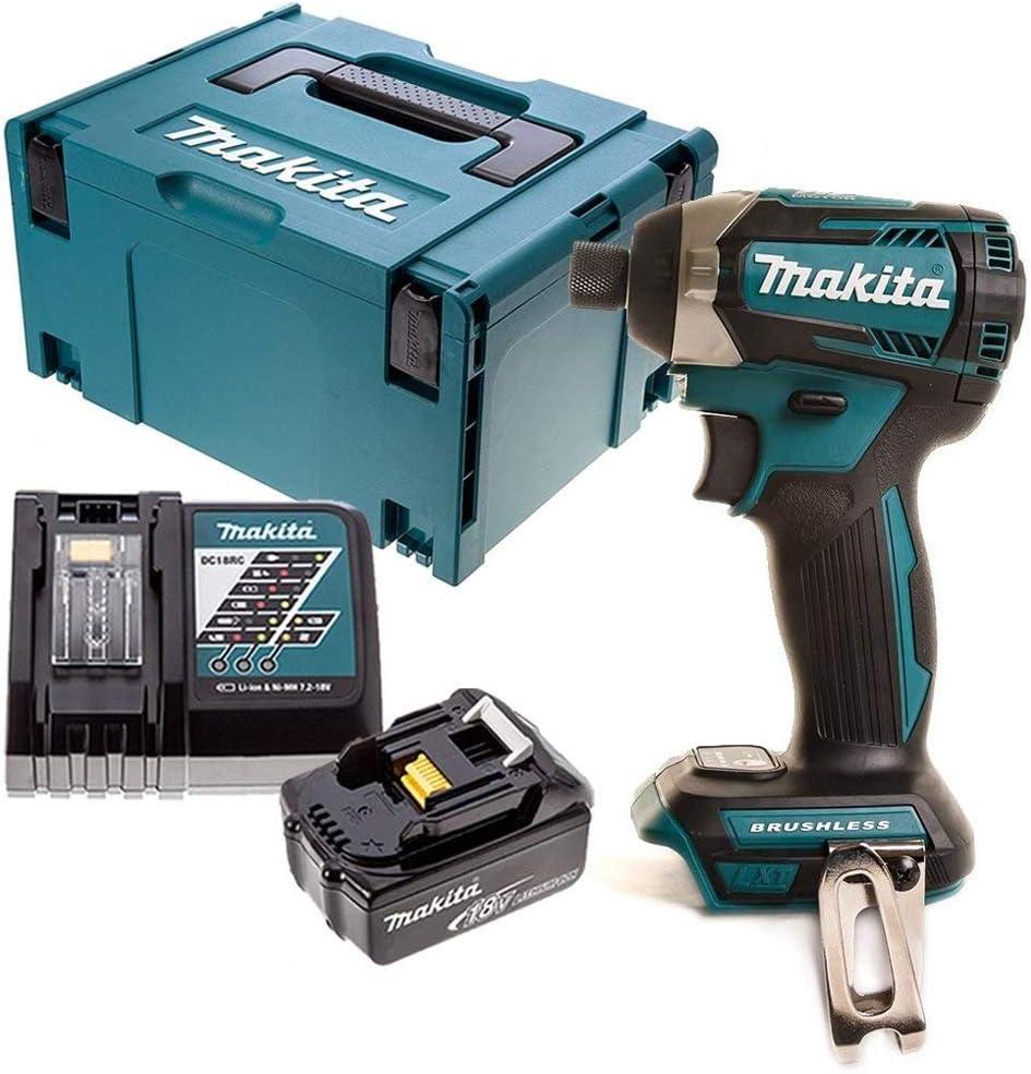 Makita DTD154Z 18 V Brushless Impact Driver avec 1 x 4.0Ah Batterie