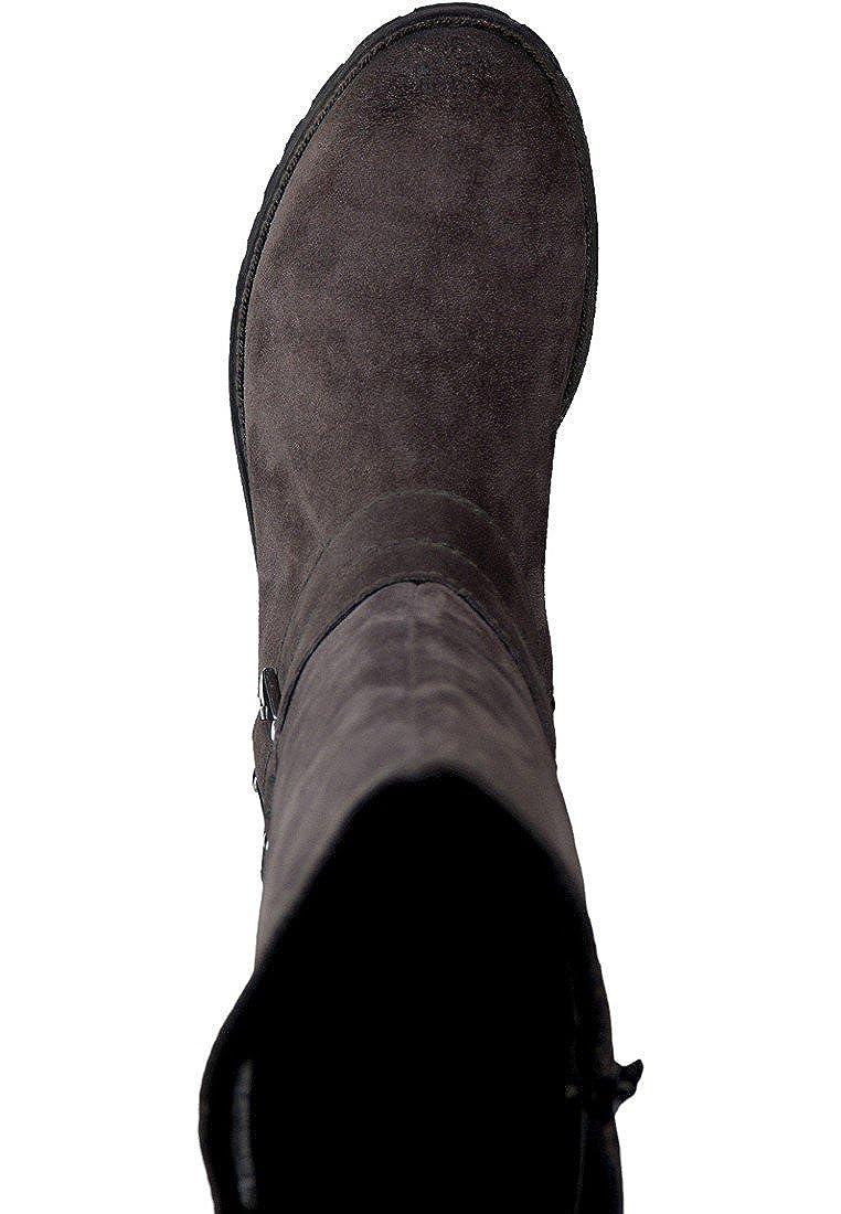 Tamaris Damen 25604 Langschaft Stiefel Grau (Anthracite (Anthracite (Anthracite 214) 69c5a2