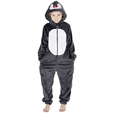 26172b54b201 CityComfort Kids Onesie Fleece Twosie Children Pyjamas Jumpsuit for ...