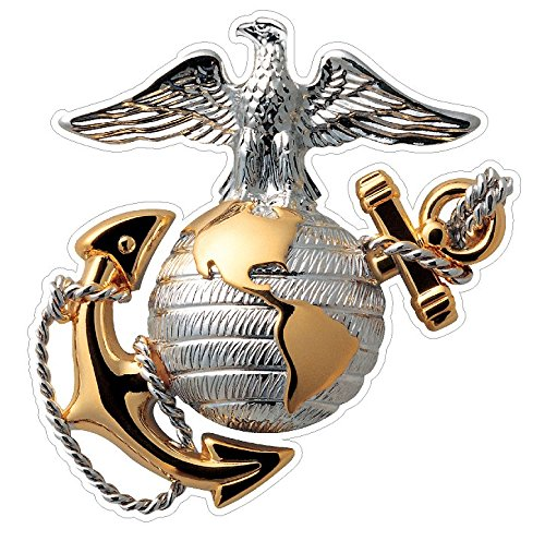 USMC Emblem (M62) Marine Corp Decal Sticker Car/Truck Laptop/Netbook Window