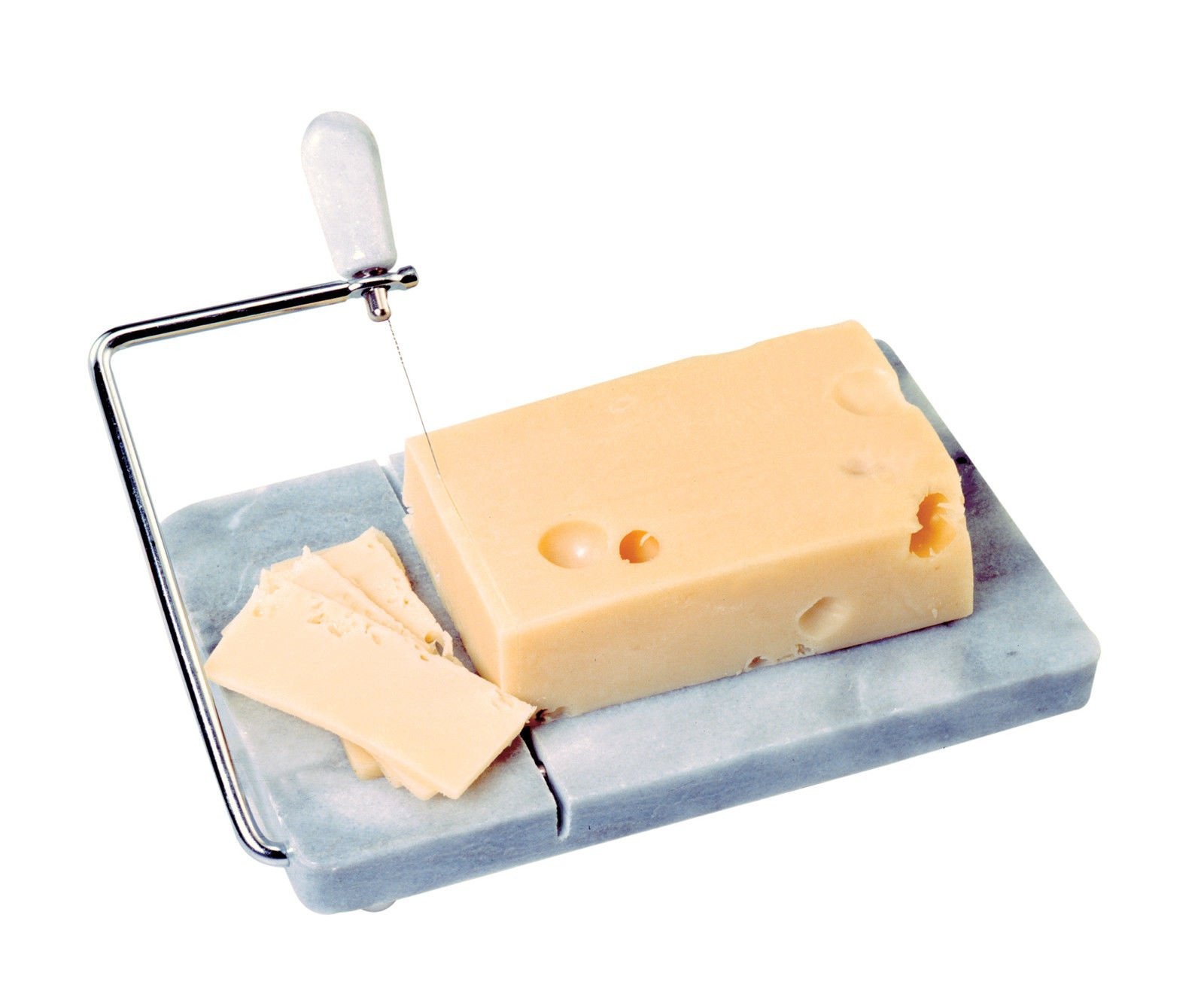 NORPRO 349 Marble Board with Cheese Slicer and Extra Wires
