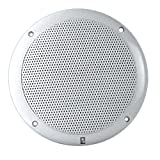 PolyPlanar 6 Dual Cone Integral Grill Speaker - (Pair) White