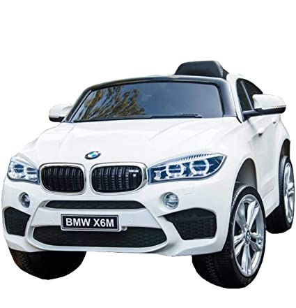 Licensed Bmw X6 Ride On Jj2199 Electric Toy Car For Kids 12v Battery Powered Led Lights Mp3 Rc Parental Remote Controller Leather Seat Suitable For
