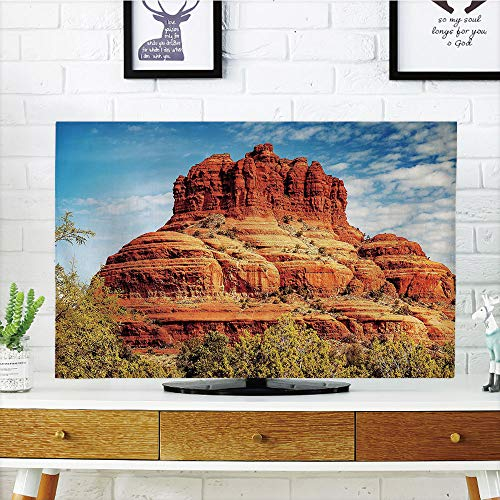 Cheap  LCD TV Cover Multi Style,Western,Famous Bell Rock and Courthouse Butte in Sedona..