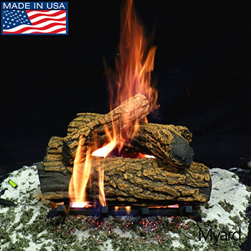 Gas Oak Massive Log Vented - Myard 15
