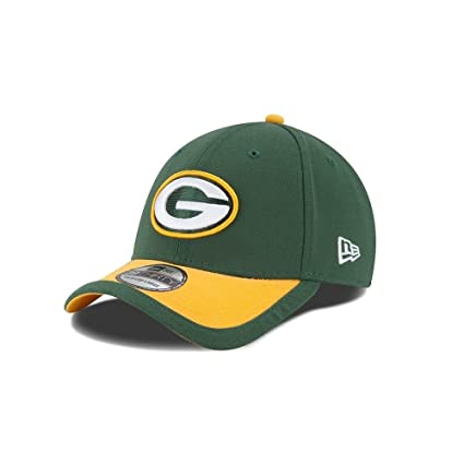 5c354d6729d5e2 New Era Men's Green Bay Packers 39Thirty 2015 On Field Hat Green/Yellow  Size Small