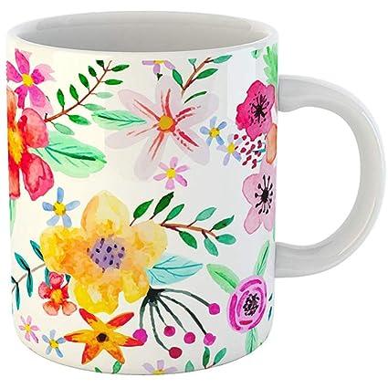 39bc20e183e Amazon.com   Coffee Tea Mug Gift 11 Ounces Funny Ceramic Abstract ...