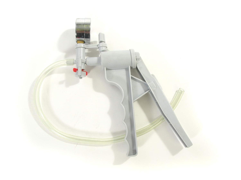 American Educational Hand Operated Vacuum Pump with Gauge