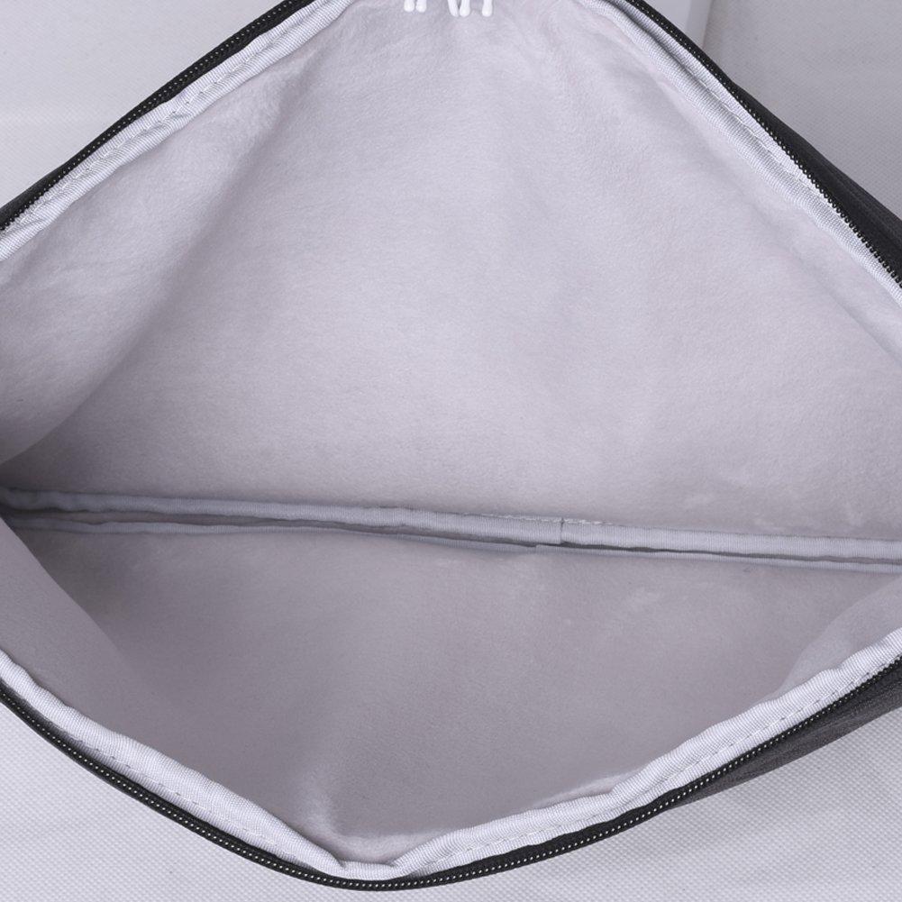 Gris Feisman Sacoche /Étanche De Protection Toile pour Ordinateur Portable Housse pour Macbook Air Pro 13,13 Pouces Porte-Ordinateur Portable