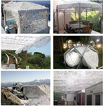 Size : 2 * 3M Filet Dombre Blanc Filet De Camouflage Militaire Auvent De Voiture Terrasse Voile Photographie Foresti/ère Camping 5x5m 4x6m 8x10m Filet Dombrage De Jardin