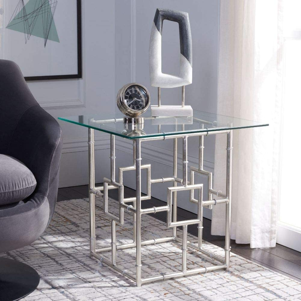 Safavieh Home Collection Dermot Silver Accent Table
