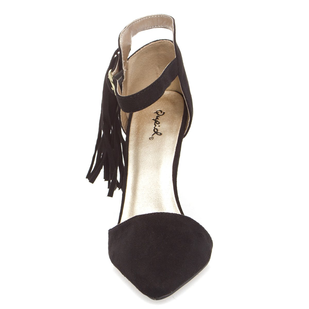 V-Luxury Womens 10-mixi89 Pointy Toe High Heel Ankle Strap Stiletto Pumps