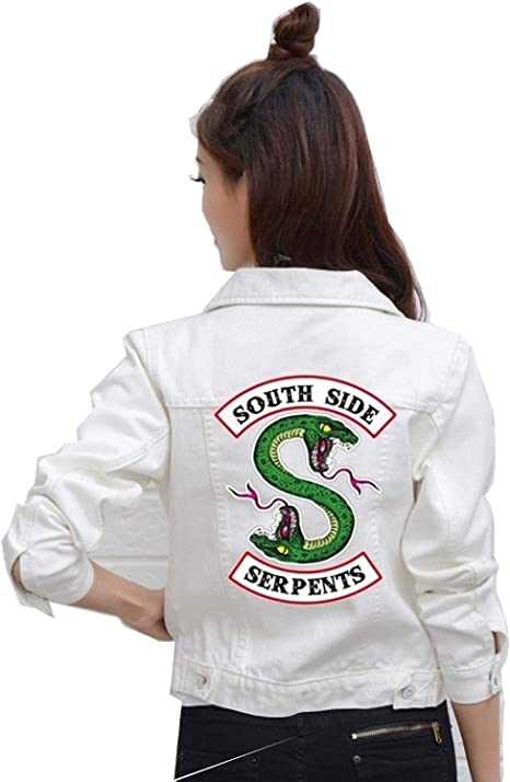 Amazon.com: Chaqueta de mezclilla Jeans South Side Serpents ...