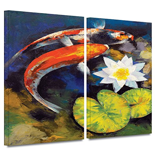 ArtWall 2 Piece Michael Gallery Wrapped Artwork product image