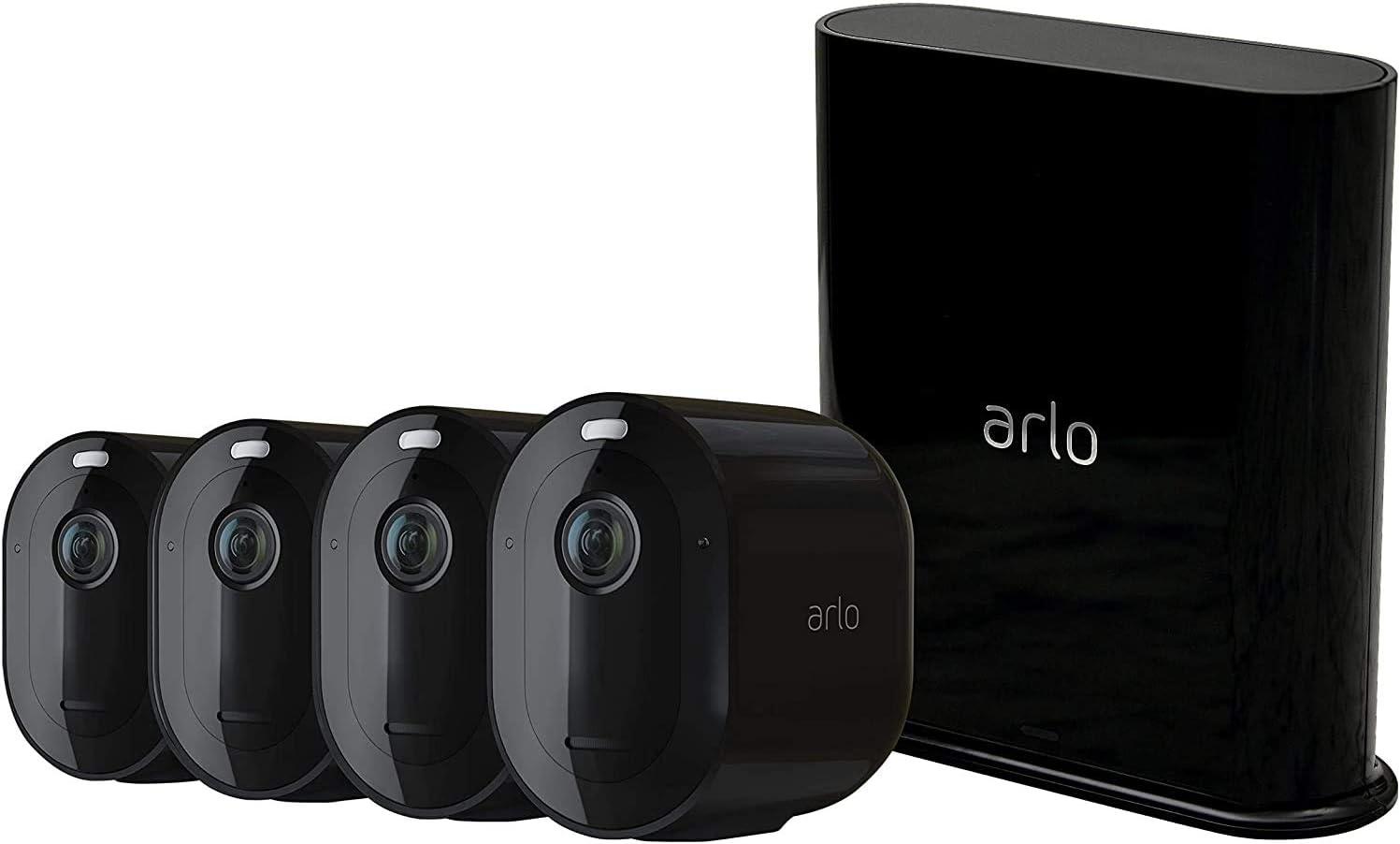 Arlo Pro 3 | Caméra de surveillance Wifi extérieure. Caméra IP 2K...