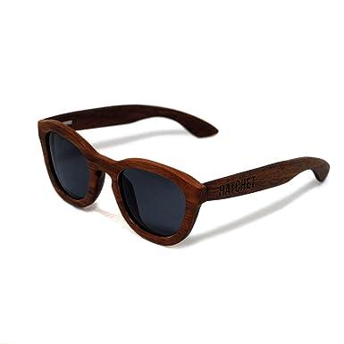 Amazon.com: Madera de Nogal Negro anteojos de sol ...