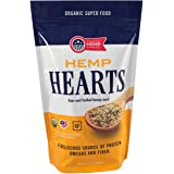American Hemp Harvest USDA Organic Hemp Hearts (Raw Shelled Hemp Seeds) - grown in USA (1.5 lbs)