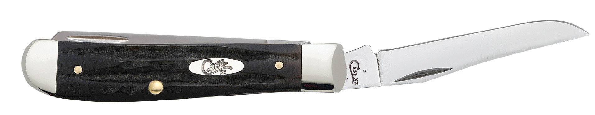 Case Buffalo Horn Mini Trapper Pocket Knife by Case (Image #4)