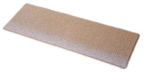 Local Stabilizers Rug.Dean Non Slip Tape Free Pet Friendly Diy Carpet Stair Treads Rugs 27 X 9 15 Plus 2 X 3 Landing Mat Color Cream