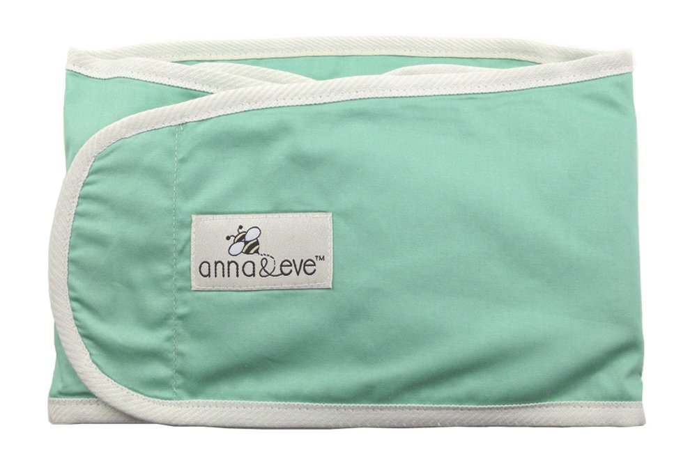 Anna & Eve Swaddle Strap Arms Only Baby Swaddle, Aqua, Large
