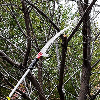 Pole Purning Saw Head - Gardening Pole Saw Hand Pole Saw - Precision Pole Handsaw, Landscape Pole Pruning Saws Heavy Duty Pole Saw for Tree Trimming (steel pole saw hand tree pruner): Home Improvement