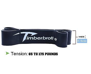 Timberbrother Pull Up Bandas/Bandas de Resistencia/Bandas de Ejercicio de Resistencia y Entrenamiento
