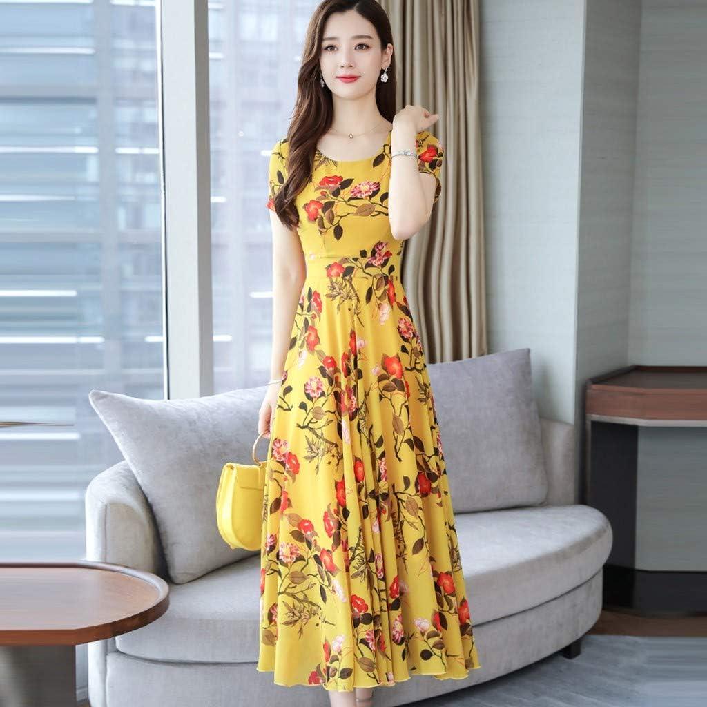 Jushye/_Dress Jushye Over Size Maxi Dress,Women Deep Dress Flowy Evening Party Mesh Dress Uk Size 18~26