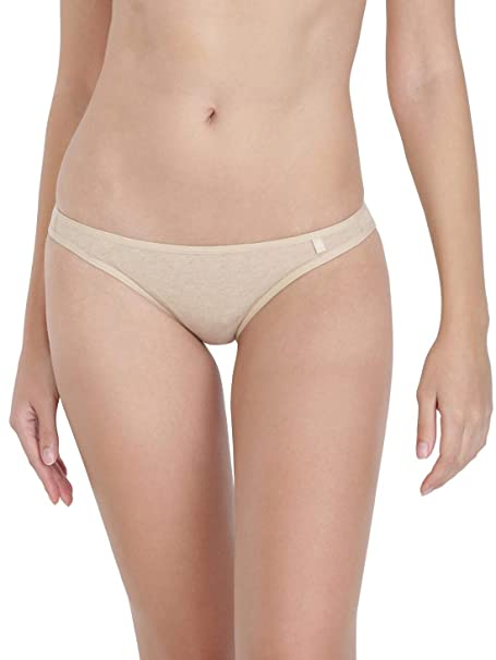 46cf80ef7acb3 Jockey Women s Plain Solid Bikini  Amazon.in  Clothing   Accessories
