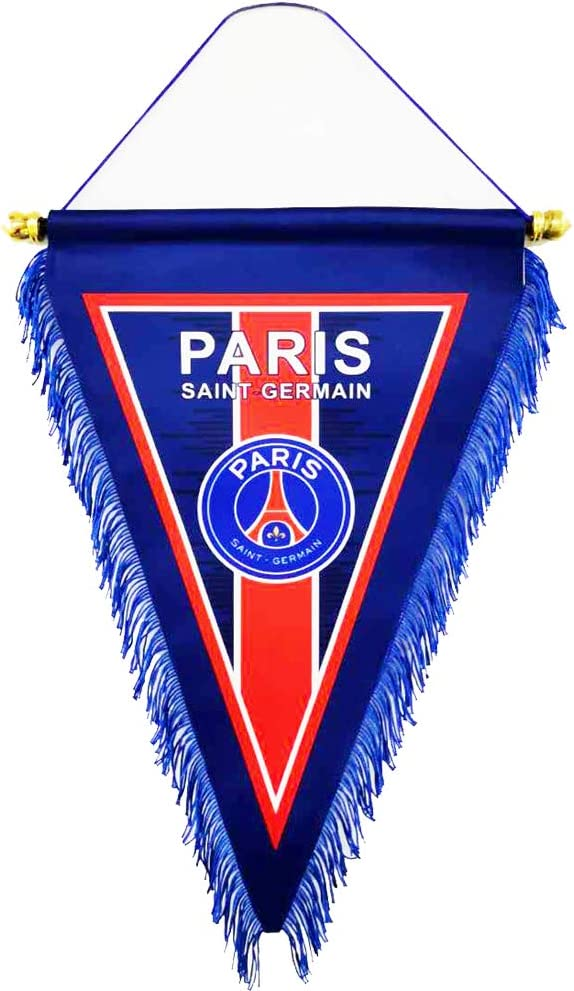 GLUUGES 15/×9 inch Football FC Club Flag Pennant Banner Hanging Outdoor or Indoor for World Soccer Team Fan