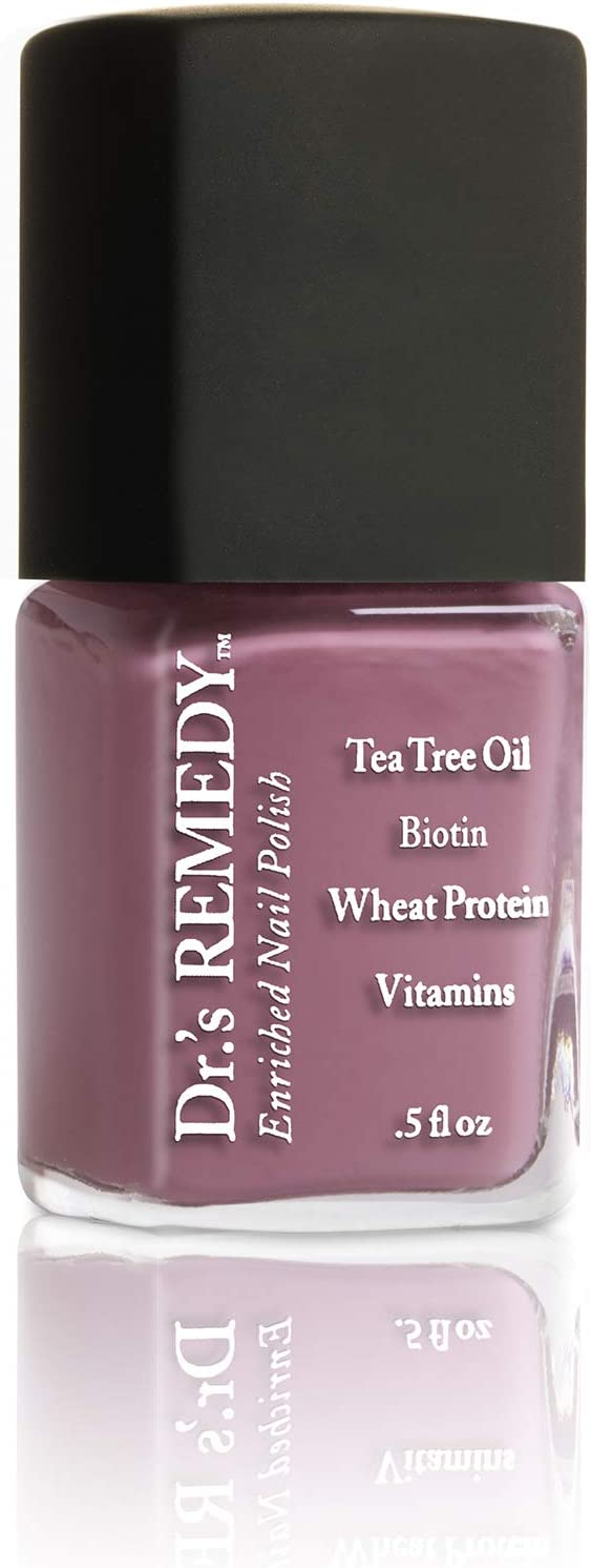 Dr.'s REMEDY Enriched Nail Polish, MINDFUL Mulberry, 0.5 fl. oz.