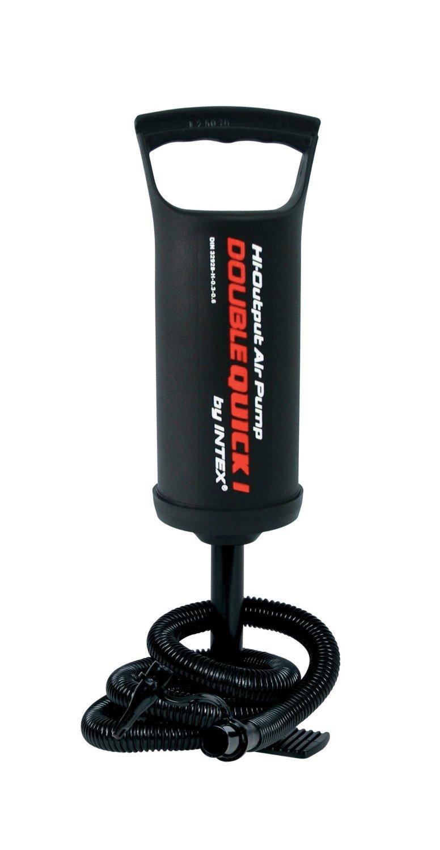 Intex Hinchador de mano pie Intex doble velocidad cm