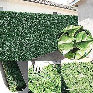 Artificial Ivy Leaf 3m x 1m privacidad Protector de mampara de jardín valla