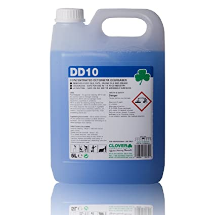 Concentrated Kitchen Degreaser Detergent for the fast removal of liquid  oils and grease