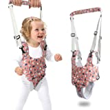 2020 Baby Walker, Baby Walker Sit-Stand Learning Assistant Handheld Auxiliary Device, with C-Section Adjustable Safety Lifting and Pulling Dual-use, Suitable for Infant Activities