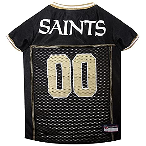 Amazon.com   NEW ORLEANS SAINTS Dog Mesh Jersey ALL SIZES Licensed NFL  (XXL)   Pet Supplies f892fda11