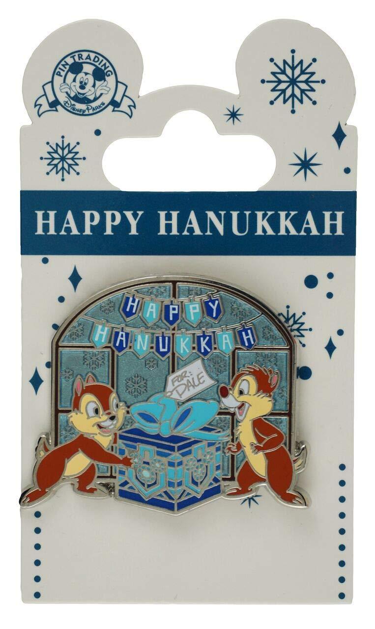 Disney Pin - Happy Hanukkah - Chip 'n' Dale